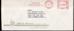 Argentina - Carta - 1990 - Matasello Especial - Franqueo Mecanico - Laboratorios Roux-Ocefa - A1RR2 - Cartas