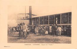 BENIN Ancien DAHOMEY COTONOU   Départ Du Faadji Bateau Vapeur à Aube N° 36 \ML4022 - Benin