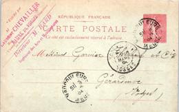 55 VAUCOULEURS TUSEY - Laurent  Chevailler Maitre De Forges - Entiers Postaux - Fonderies De Tusey - Altri Comuni
