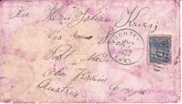 5380  --BRIEF   Frontenac, Kansas--MEDVODE   1907 - Briefe U. Dokumente