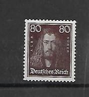 Reich  N° 389 X Scharnier Cote 67,50 Euro - Unused Stamps