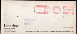 Argentina - 1996 - Lettre - Cachet Spécial - Affranchissement Mécanique - Bandeleta Tema Ajedrez - A1RR2 - Cartas