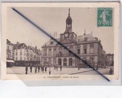 Chaumont (52) Hôtel De Ville (avec Animation) (carte N° 7) - Chaumont