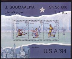 Soccer World Cup 1994 - SOMALIA - S/S MNH - 1994 – Estados Unidos