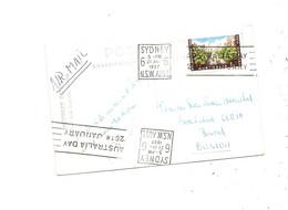 Australie ( CP De 1957 De Sydney Vers La Belgique à Voir) - Briefe U. Dokumente