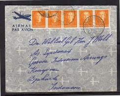 1953 Correspondentie Inzake PROEFVLUCHTEN  Netherlands Indies! > Indonesian Airways (BT-7) - Covers & Documents