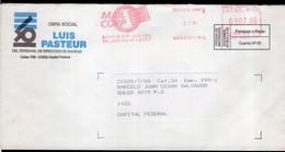 Argentina - 1996 - Courrier Privé Mail Corp - Circulé - Envoyé En Buenos Aires - Luis Pasteur - A1RR2 - Cartas