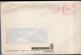 Argentina - 1994 - Lettre - Cachet Spécial - Affranchissement Mécanique - Sarandi - A1RR2 - Cartas