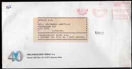 Argentina - Circa 1990- Lettre - Courrier Privé Transportes Sideco SRL - Veraz - Envoyé En Buenos Aires - A1RR2 - Cartas