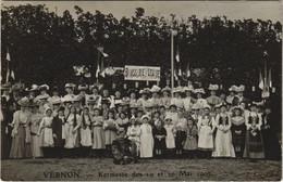 CPA VERNON - Kermesse Des 19 Et 20 Mai 1907; Carte Photo (148309) - Vernon