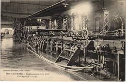 CPA PONT-AUDEMER - Établissement De La Risle - Machine A Papier (148349) - Pont Audemer