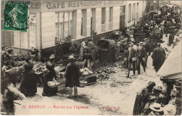 CPA BERNAY - Marché Aux Légumes (148442) - Bernay
