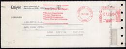 Argentina - 1990  - Lettre - Cachet Spécial - Affranchissement Mécanique - Bayer - A1RR2 - Cartas