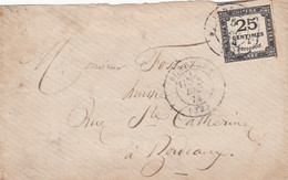 France Cover 1874 - Unclassified