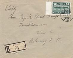 Österreich Brief 1937 - 1945-60 Cartas