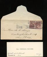Kerstpoststempel MIDDELBURG Zeer Klein Envelopje Verhage-van Heijl ( (BT-25) - Covers & Documents