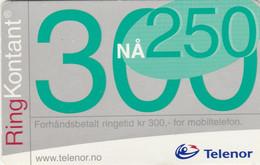 Norway, TEL-MOB-016?, Big 300 Na 250, 2 Scans. - Noruega