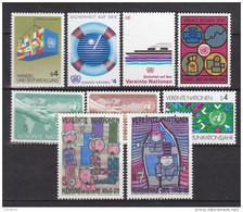 UNO Wien 1983, 29-37, Postfrisch **, Kompletter Jahrgang - Nuevos