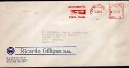 Argentina - 1992 - Lettre - Cachet Spécial - Affranchissement Mécanique - Bandeleta Parlante - A1RR2 - Cartas