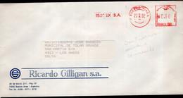 Argentina - 1992 - Lettre - Cachet Spécial - Affranchissement Mécanique - ISOTEX SA - A1RR2 - Cartas