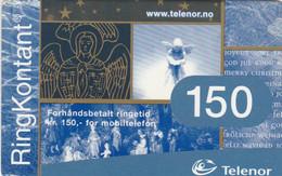 Norway, TEL-MOB-030, Telenor 150 God Jul, Christmas, 2 Scans. - Noruega