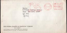Argentina - 1990 - Lettre - Cachet Spécial - Affranchissement Mécanique - Unicef - Los Niños Primero - A1RR2 - Cartas