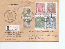 Luxembourg ( Lettre Recommandée De 1966 De Luxembourg-Ville Vers La Belgique à Voir) - Briefe U. Dokumente