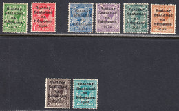 Ireland 1922 Mint No Hinge/mint Mounted, See Notes, Sc# ,SG 1,2,4-9 - Unused Stamps