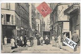 75017 . Paris :   Rue La Condamine : Rue Lemercier . - Arrondissement: 17
