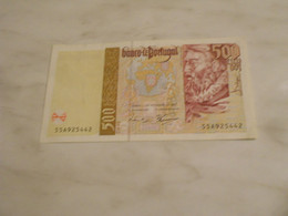 PORTUGAL   1997    -    500   ESCUDOS  BILLET -  UNC - Portugal