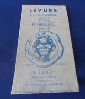 LEVURE MARQUE AU  PETIT NEGRE R. LERAT à Labruyére Oise - Advertising