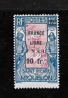 SPM MIQUELON YT 289 NEUF**TB Signé STOLOW Et BEHR - Neufs