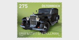 Austria 2021 Autriche Graf Stift SP 8 Pullman 1930 Car Auto Voiture Wagen 1v Mnh - Automobili