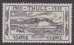 1935. Thule. 45 øre. Hinged. (Michel 5) - JF415216 - Thule