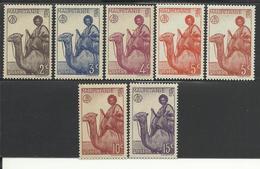 MAURITANIE - MAURITANIA 1938 - YT 73/78** - MNH - Neufs
