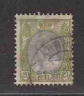 PAYS-BAS  (Y&T) 1898/1923 - N°57   *  Wilhelmine   *   20c.   Obli (ARNHEM) - Used Stamps
