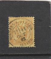 SAGE N° 92  -  CACHET A DATE MOULINS SUR ALLIER  11 OCT. 1882 - REF 5211 - 1876-1898 Sage (Type II)