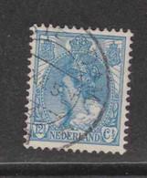 PAYS-BAS  (Y&T) 1898/1923 - N°57   *  Wilhelmine   *   12 1/2c.   Obli () - Used Stamps