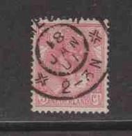 PAYS-BAS  (Y&T) 1898/1923 - N°51   *  Wilhelmine   *   5c.   Obli () - Used Stamps