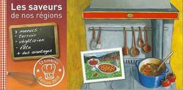 Carnet Sans Les Timbres - Les Saveurs De Nos Régions. - Autres