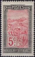 MADAGASCAR 131 ** MNH Transport En Filanzane 1922-1926 - Nuovi