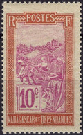 MADAGASCAR 133 ** MNH Transport En Filanzane 1922-1926 - Nuovi