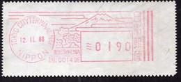 Japan - 1988 - Fragment Letter - Special Postmark - A1RR2 - Cartas