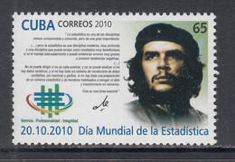 2010 Cuba World Statistics Day Che Guevara Complete Set Of 1 MNH - Nuevos