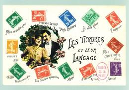 Entier Carte Postale-prêt à Poster-Les Timbres Et Leur Langage - Prêts-à-poster:  Autres (1995-...)