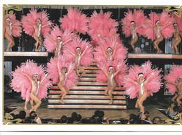Moulin Rouge Carte De Voeux 1987 - Kabarett