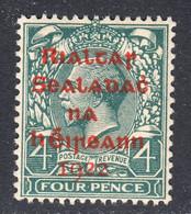 Ireland 1922 Mint No Hinge, Carmine Overprint, Sc# ,SG 6c - Unused Stamps