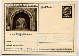 DR P236/34-53-1-B6 Bild-Postkarte Offenbach  DRUCKPROBE 1934  Kat. 17,50 € - Enteros Postales