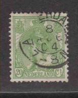PAYS-BAS  (Y&T) 1898/1923 - N°57   *  Wilhelmine   *   20c.   Obli () - Used Stamps