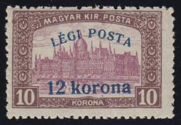 1920-HUNGARY-LEGI POSTA-12 KORONA-MINT** - Ungebraucht